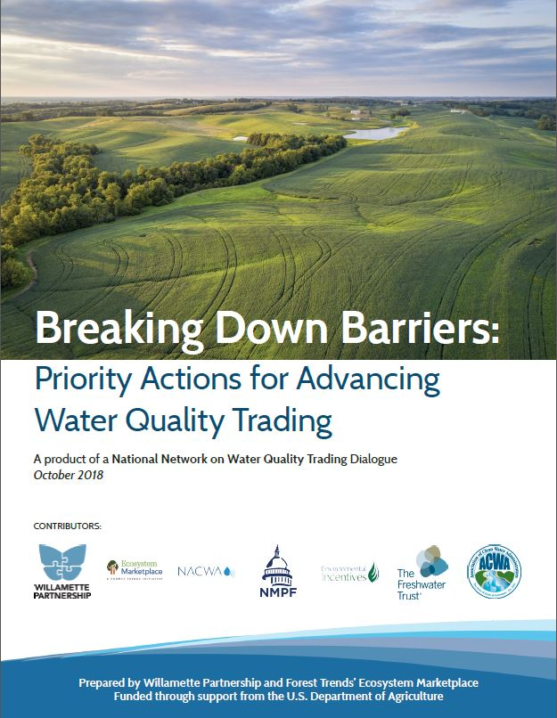 National Network Releases New Action Agenda for Advancing Water Quality Trading</strong>